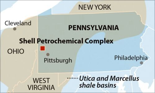 IEEFA report: Financial risks loom for Shell's Pennsylvania petrochemicals complex.