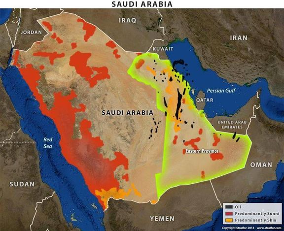 USA is looking for Saudi Arabia's eastern oil fields and products.