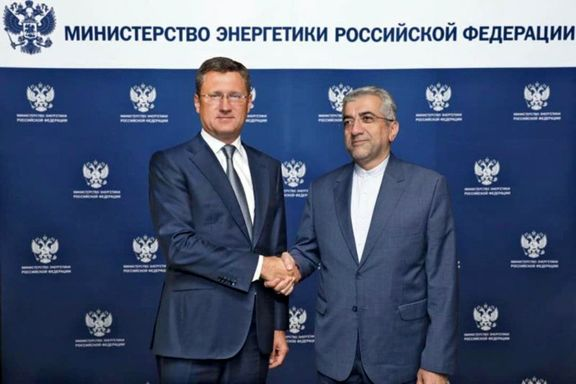 Iran, Russian energy ministers underline expansion of cooperation
