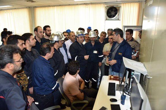 پایان تعویض و بروز رسانی سیستم کنترلی واحد الفین پتروشیمی تبریز