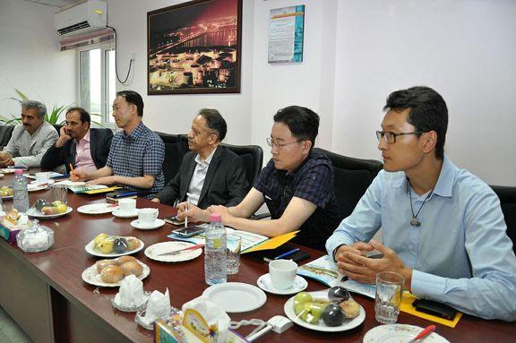 بازدید شرکت هیوسونگ کره جنوبی از پتروشیمی فجر