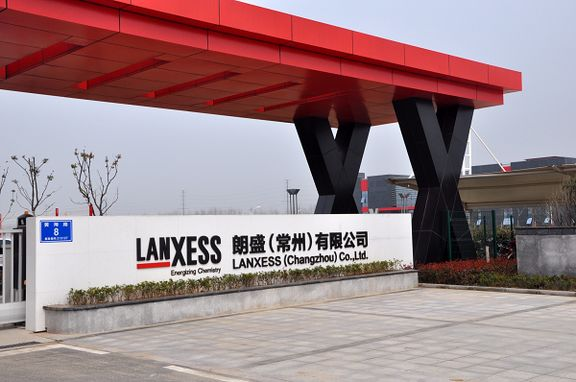 Lanxess starts up 'high-tech' plastics plant in China.