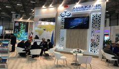 حضور پتروشیمی امیرکبیر در نمایشگاه eurasia 2018 plast ترکیه