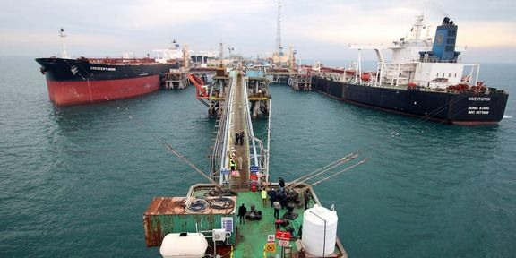 U.S. officials say smugglers are increasingly using Iraqi waters to evade sanctions on Iranian oil.
