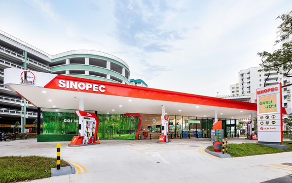 Sinopec starts filling central China crude storage.