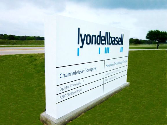 ℕew LyondellBasell CFO Faced With Slowdown in Demand for Plastics, Chemicals.