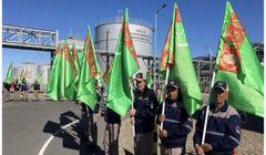 افتتاح واحد پتروشیمی 3/4 میلیارد دلاری در ترکمنستان